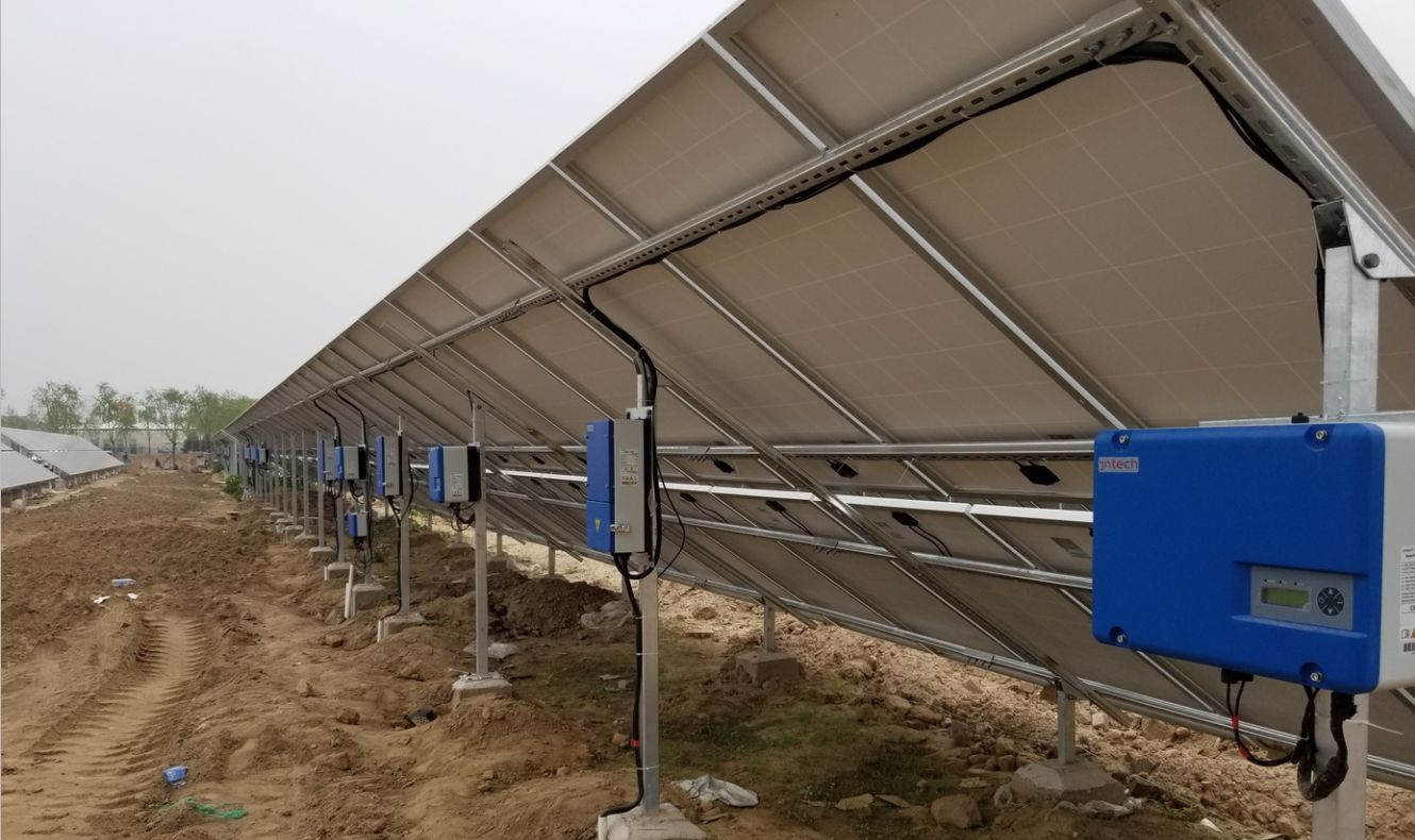 JNTECH solar pump project in Beijing Daxing International Airport ACCEPTED
