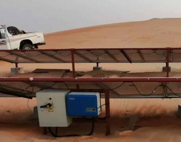 The UAE successfully installed a desert hybrid system that can support pumping and energy supply