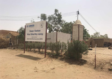 5 sets 7.5kW & 18.5kW Solar pump system in Sudan