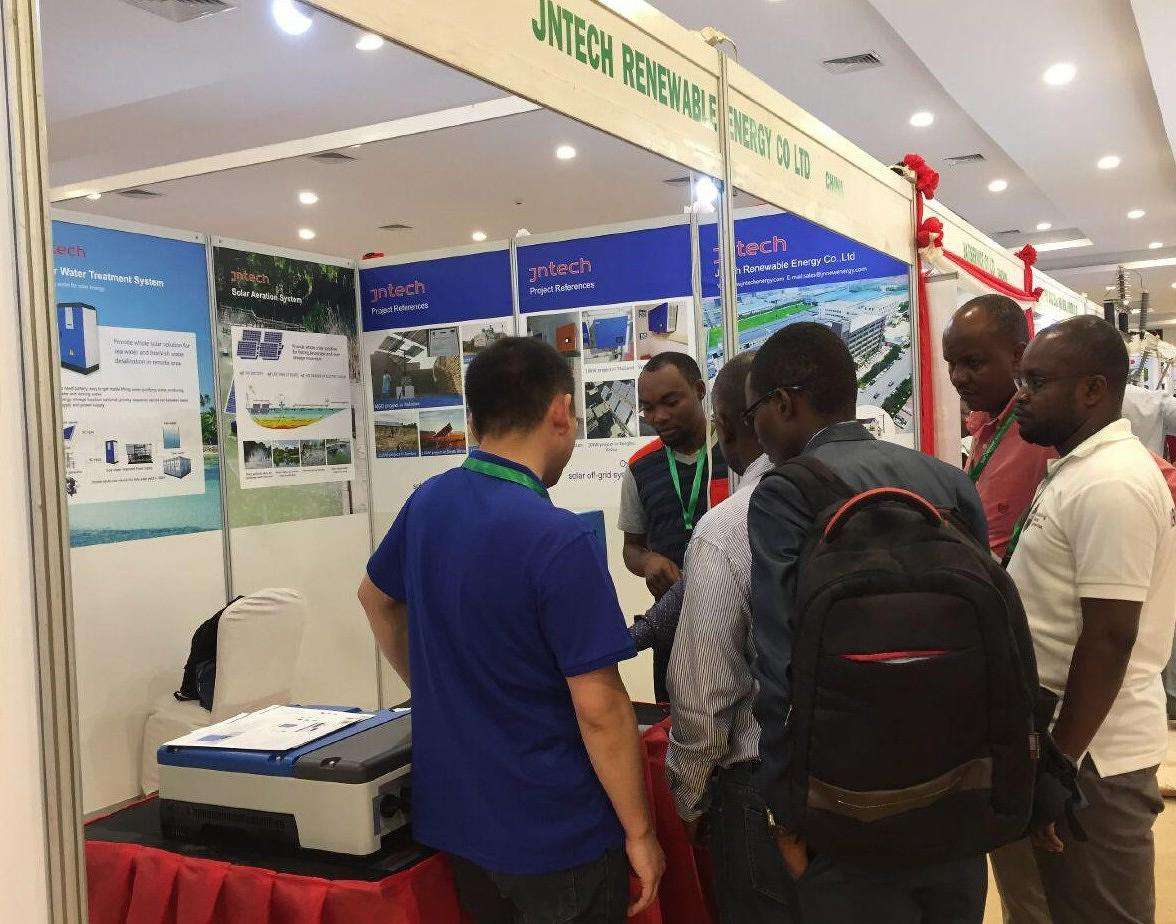JNTECH attend The Oil&Gas&Solar event of East Africa